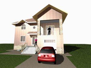 Наверное, все люди, строящие свой дом, имеющие свой личный автомобиль или другую технику задавались вопросом «Насколько может быть удобен гараж под балконом?»