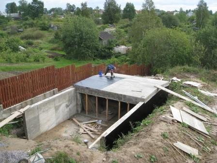 Строительство подземного гаража на своем участке