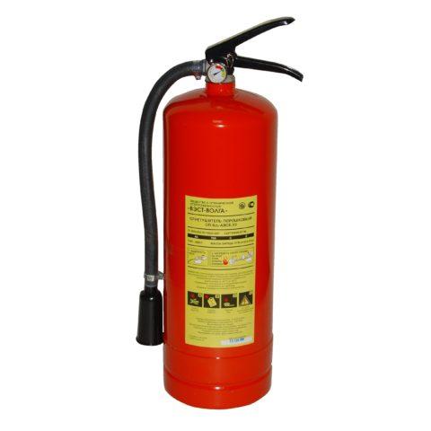 Огнетушитель для гаража