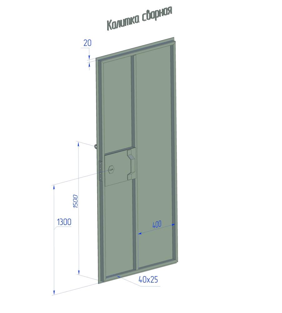 габариты и схема гаража