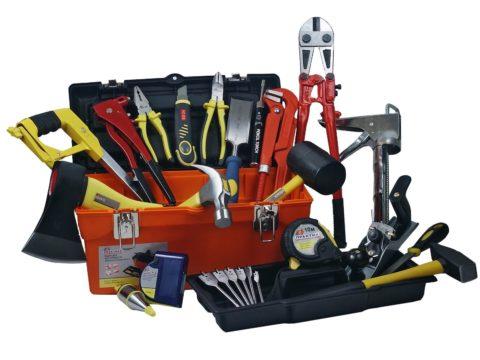 Набор инструментов для изготовления стеллажа