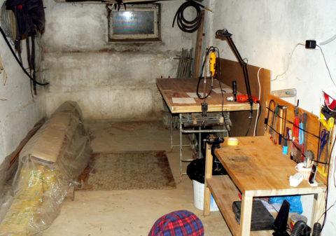 Организация мастерской в подвале