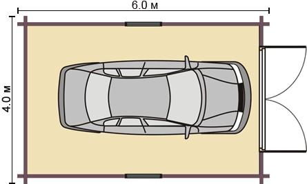 Гараж для одной машины