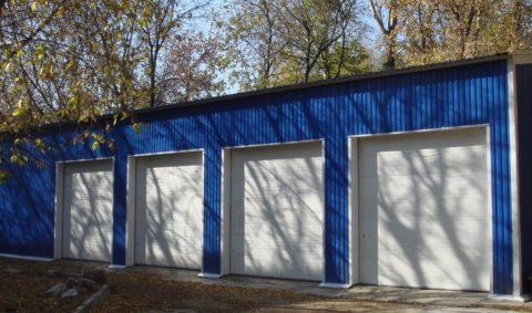 Общественные гаражи чаще строят по типу боксов