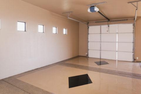 Внутренняя отделка гаража: краска по штукатурке