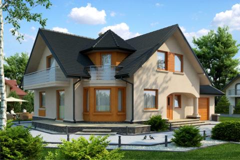 Хорошо, когда дом - не просто крепость, а удобное и красивое жилище
