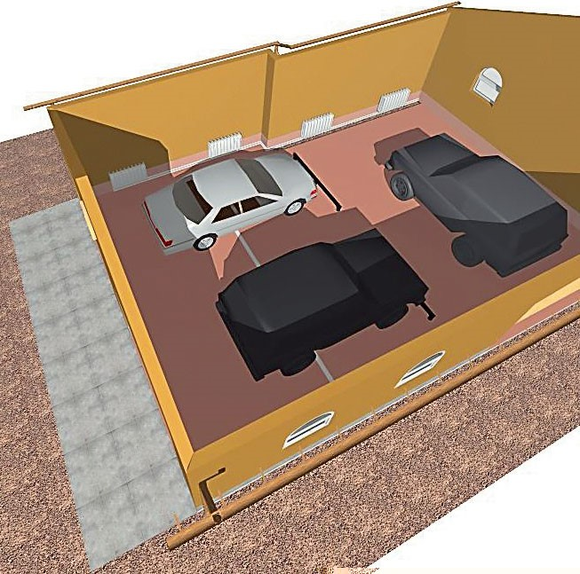 3D план проекта