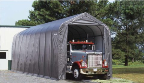 Мобильный гараж
