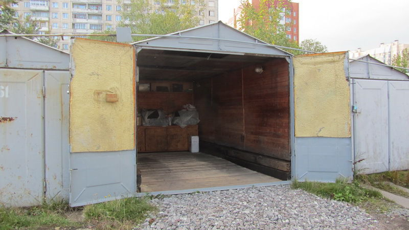 Навесы пристроенные к гаражу фото