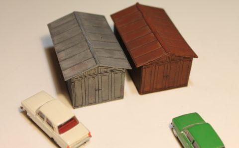 Модель ижорского гаража
