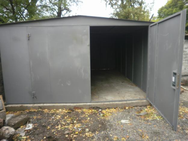 Фундамент под гараж металлический