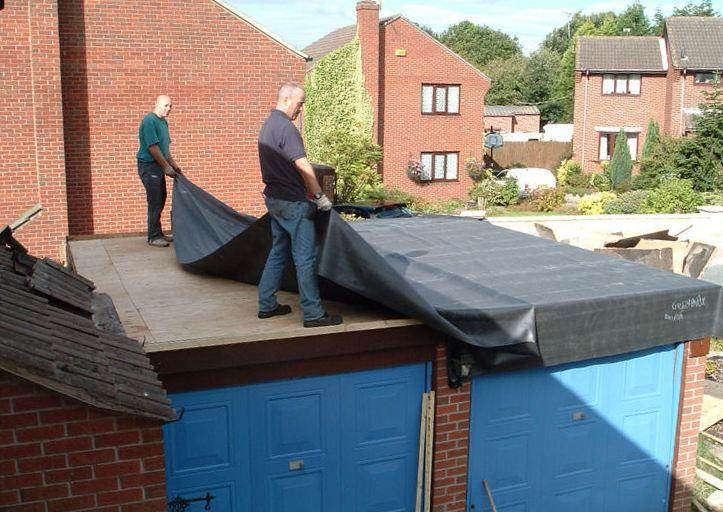 покрытие для крыши гаража что лучше