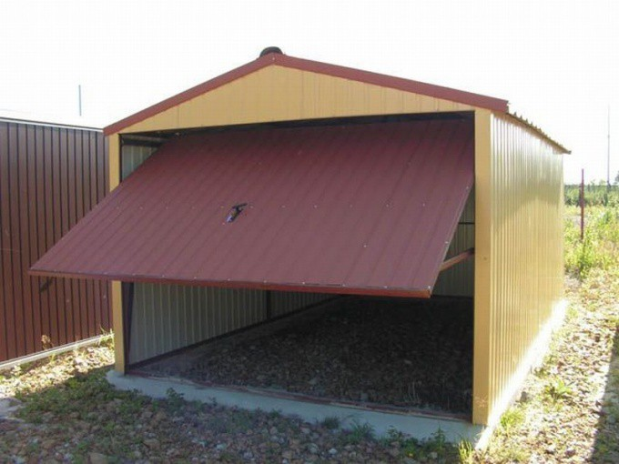 излишняя влага сборный гараж для дачи позволяет