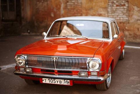 ГАЗ − 24 – легенда советского автопрома. Относится к классу D
