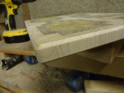 Фаска придаст деревянной конструкции более презентабельный вид
