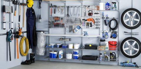 Мобильная система хранения для гаража