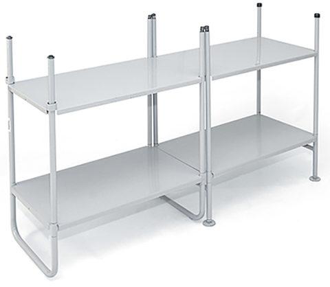 НСО 01 СТ01 можно собрать, как двухполочную широкую конструкцию