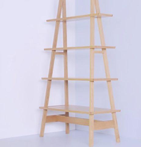 Стеллаж складной на треугольных стойках