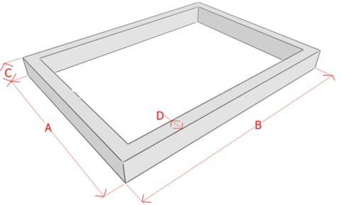 Заранее посчитайте объем бетона для фундамента