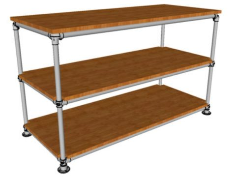 Пристенный вариант мебели можно переносить с места на место