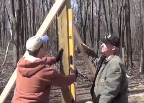 Проверка вертикальности элементов