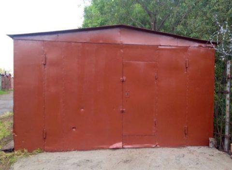 Правильно установленный гараж хорошо открывается и не затапливается водой