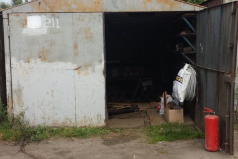 Просевший гараж — частая проблема