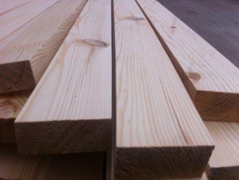 Брус деревянный 50х100