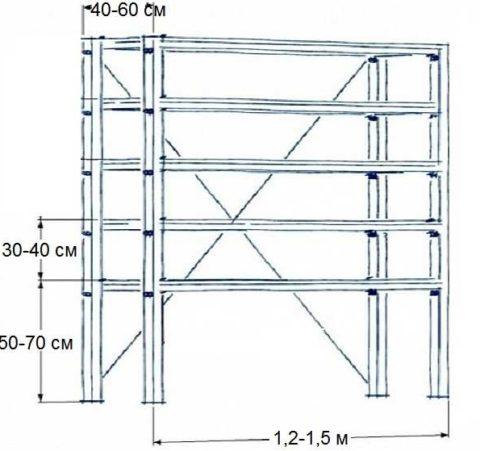 Эскиз конструкции
