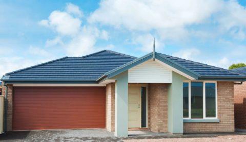 Дом со встроенным гаражом