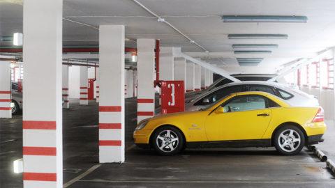 Размещение автомобилей в народном гараже