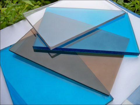 Листы монолитного поликарбоната