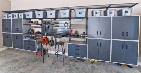Размещение оборудования в просторном помещении