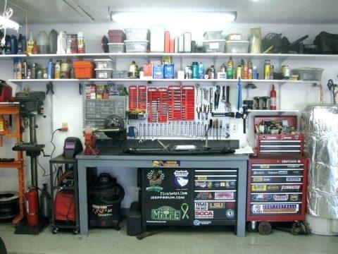 Убранство гаража