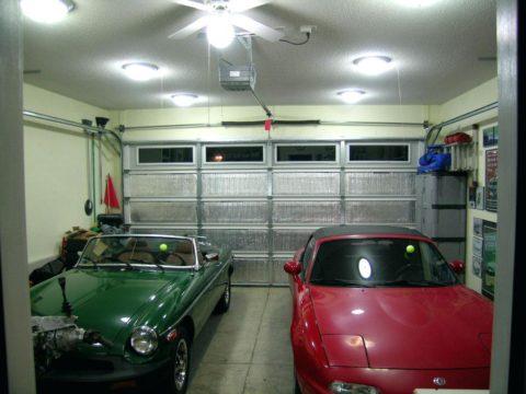 Освещение места хранения автотранспорта