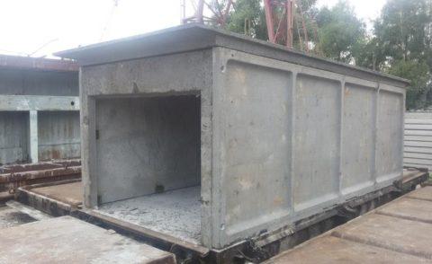 Сборная железобетонная конструкция