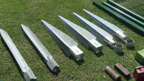 Клиновидные металлические забивные сваи