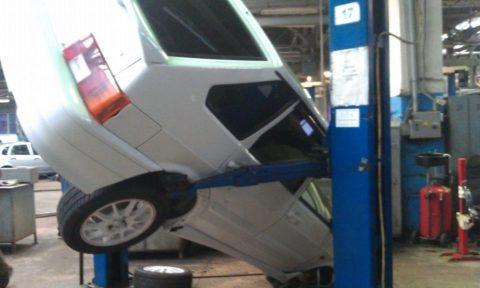 Падение автомашины с подъемного агрегата