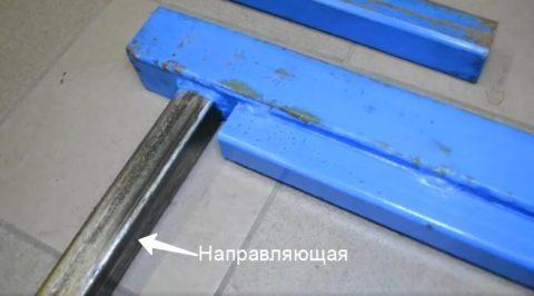 Составные элементы подъемной части агрегата