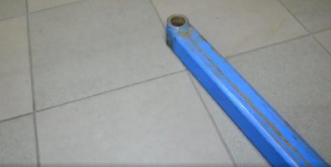 Выдвижная лапа из профильной трубы