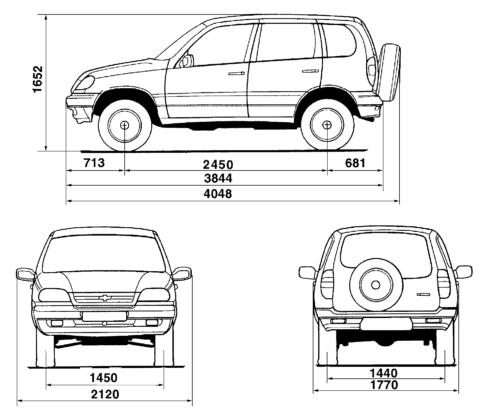 При определении размера ямы в плане ориентируемся на колёсную базу авто