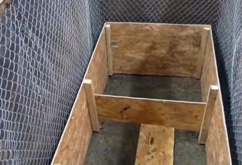Шаг 7 - Установка опалубки стенок