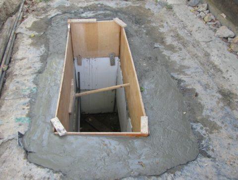 Шаг 9 – Затвердевание бетона