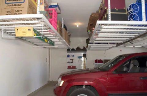 Высота гаража подбирается в зависимости от навесного оборудования